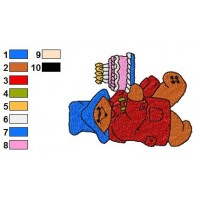 Paddington Bear Embroidery 13