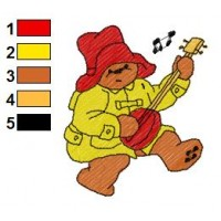 Paddington Bear Embroidery 22