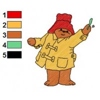 Paddington Bear Embroidery 40