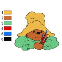 Paddington Bear Embroidery 41