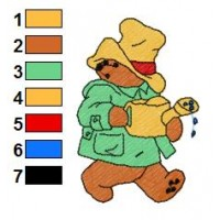 Paddington Bear Embroidery 44