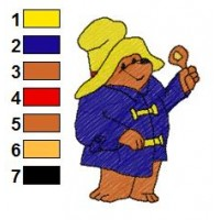 Paddington Bear Embroidery 47