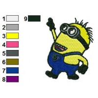 Perfect Despicable Me Embroidery Design