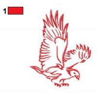 Red Eagle Tattoos Embroidery Designs