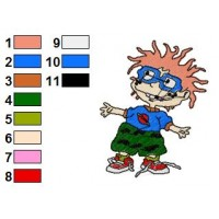 Rugrats Embroidery Design 4