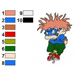 Rugrats Embroidery Design 5