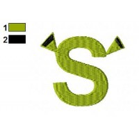 Shrek Embroidery Design 14