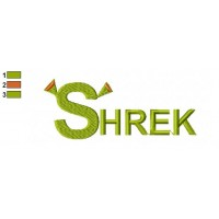 Shrek Embroidery Design 18