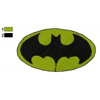 Superman Batman Embroidery Design 4