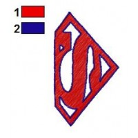 Batman and Superman Embroidery Designs