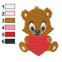 Teddy Bear Pattern 02