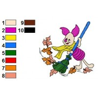 Winnie The Pooh Embroidery 15