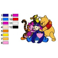 Winnie The Pooh Embroidery 20
