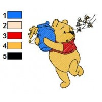 Winnie The Pooh Embroidery 4